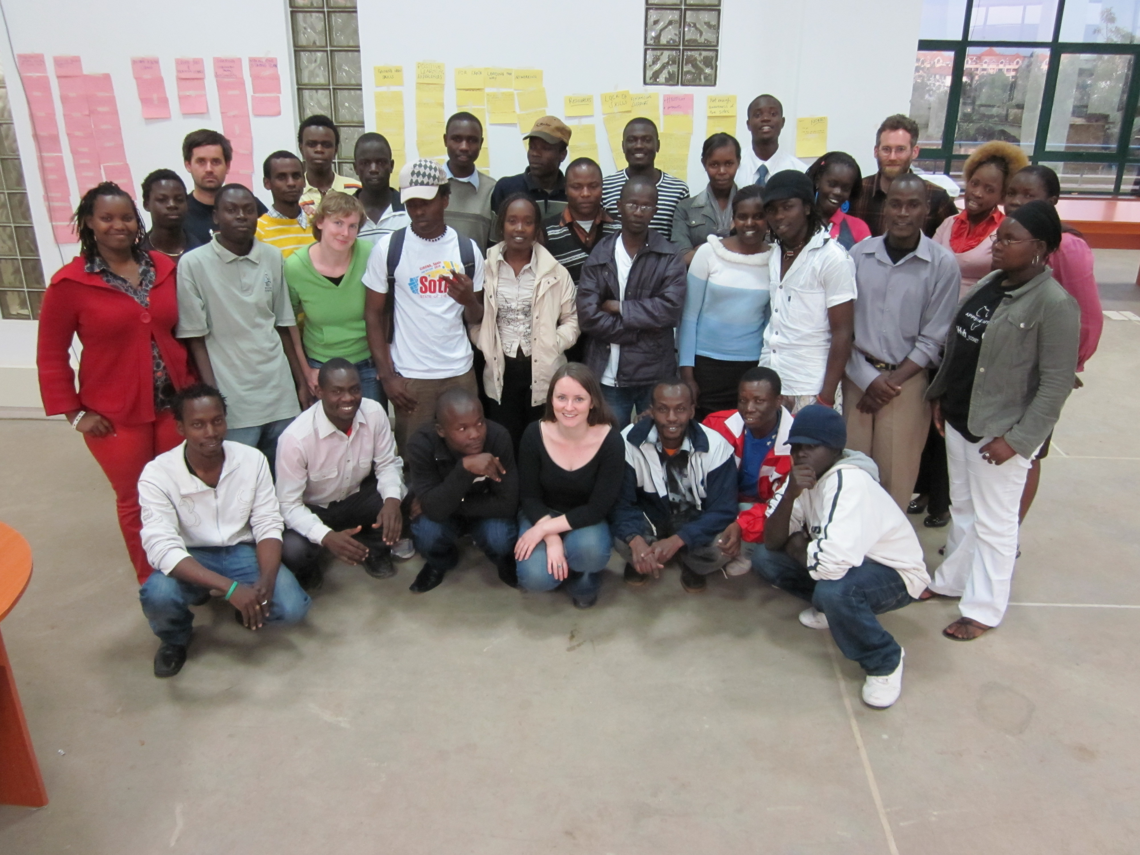 The Map Kibera family!