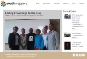 The Youth Mappers blog